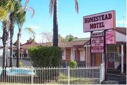 The Homestead Motor Inn - Accommodation Find