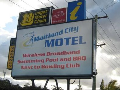 Maitland City Motel - Accommodation Find