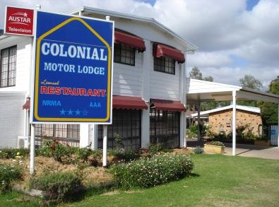 Colonial Motor Lodge - Accommodation Find