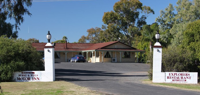 Burke and Wills Motor Inn - Moree - Accommodation Find