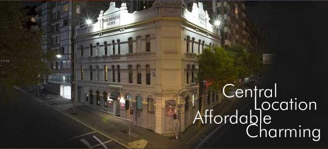 Woolbrokers Hotel - Accommodation Find