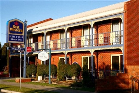 Best Western Burke amp Wills Motor Inn - Accommodation Find