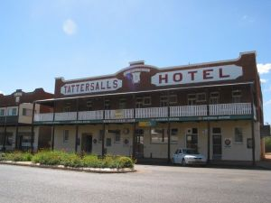 Tattersalls Hotel Baradine - Accommodation Find