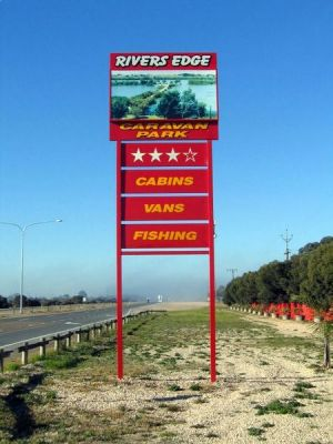 Rivers Edge Caravan Park - Accommodation Find