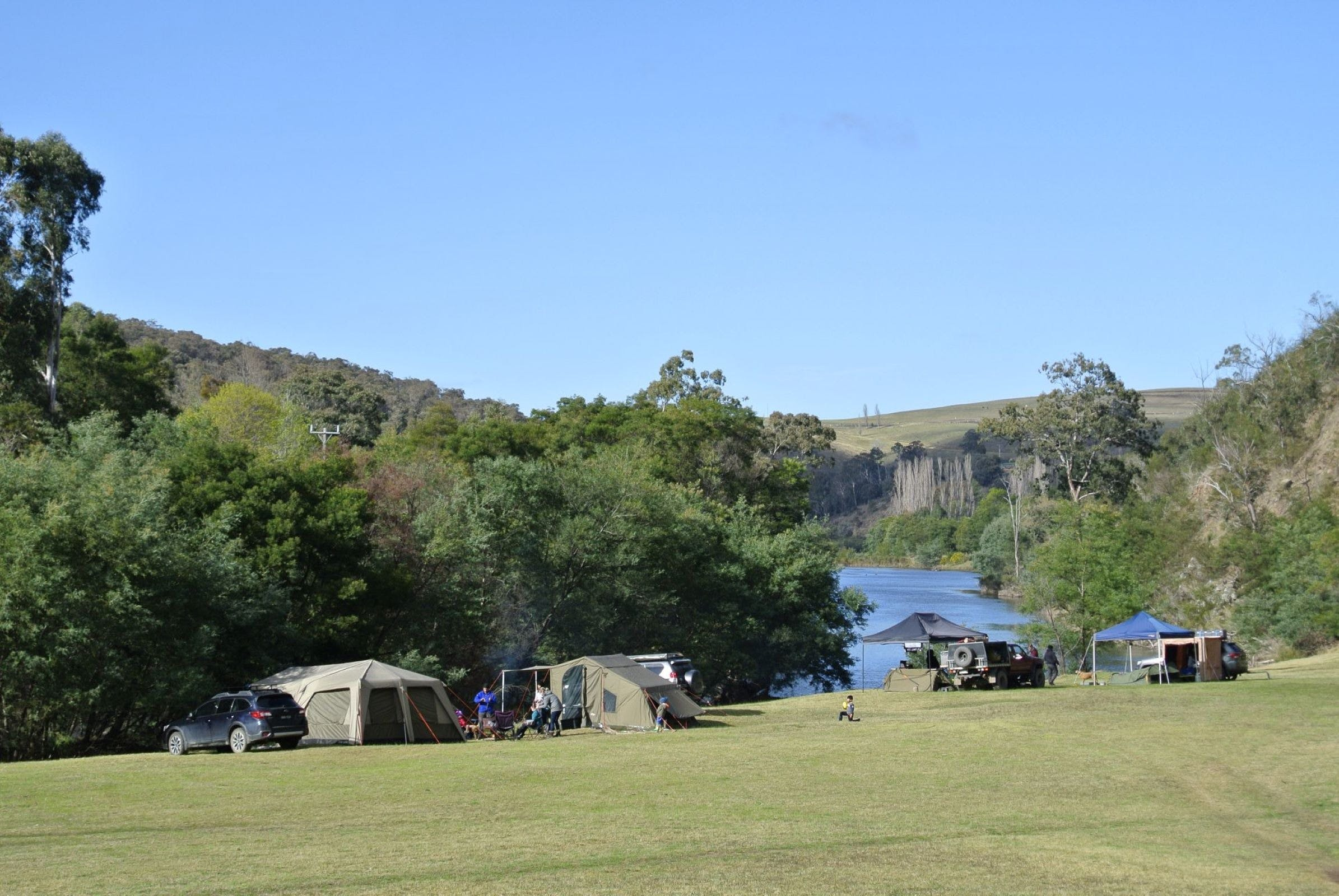 Montana on the Macalister Campground  Caravan Park - Accommodation Find