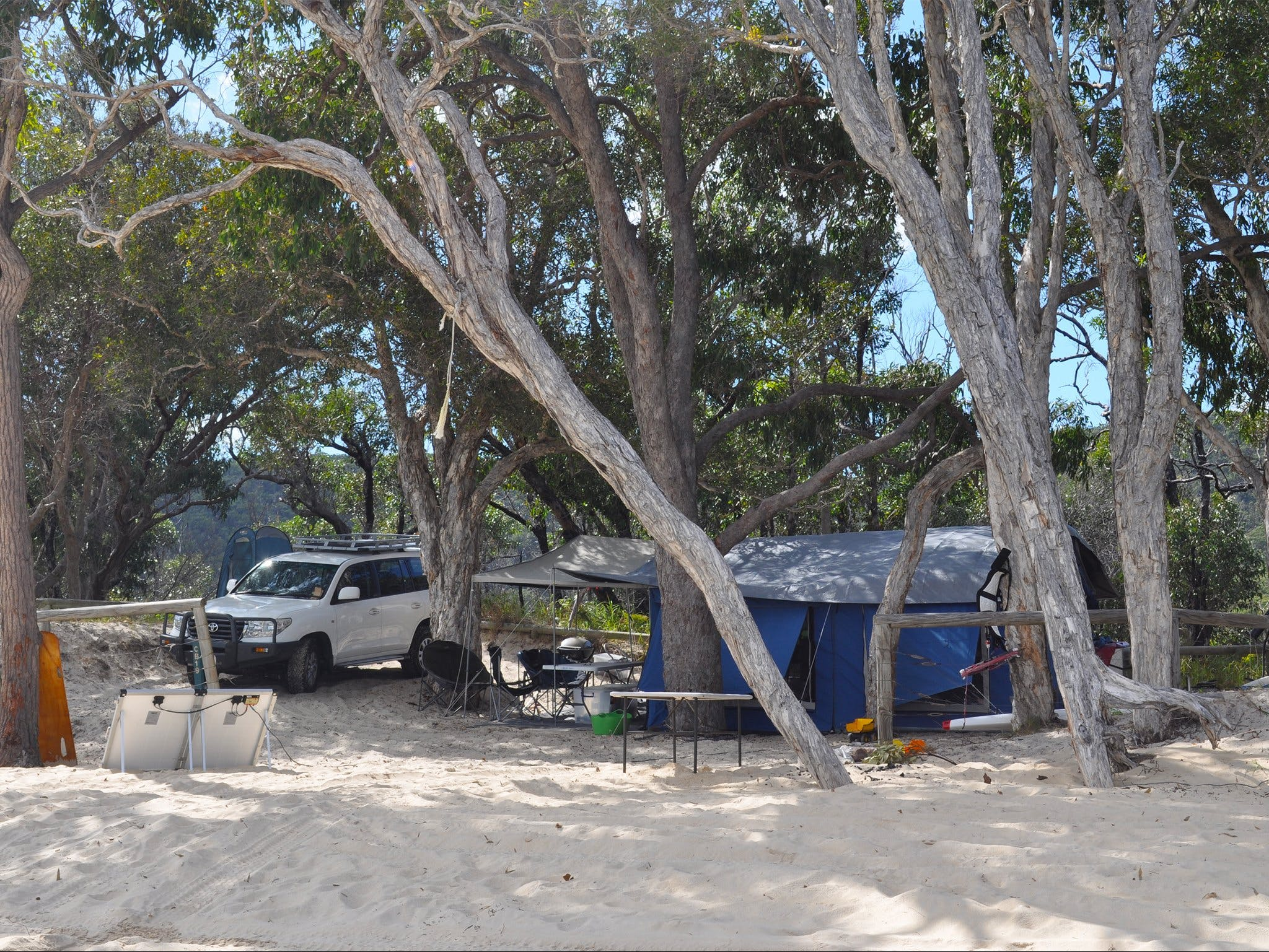 Moreton Island National Park and Recreation Area camping - Accommodation Find