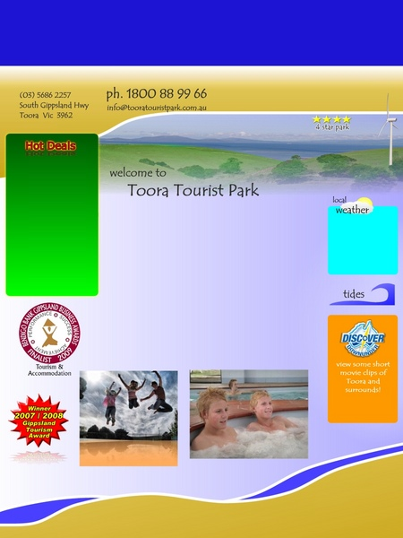 Toora Tourist Park - Accommodation Find