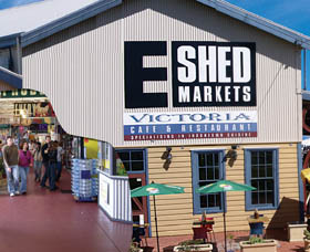 The E Shed Markets - Accommodation Find