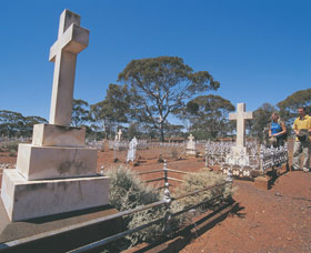 Coolgardie Cemetery - Accommodation Find