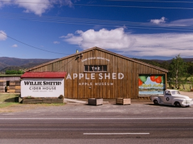 The Apple Shed Tasmania - Accommodation Find