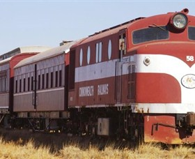 Old Ghan Heritage Railway and Museum - Accommodation Find