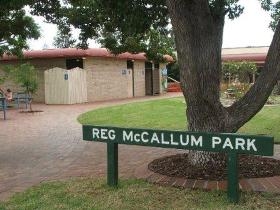 Reg McCallum Park - Accommodation Find