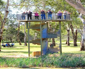 Darling and Murray River Junction and Viewing Tower - Accommodation Find