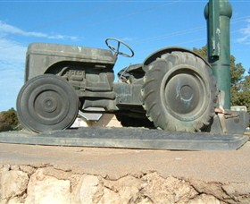 Ferguson Tractor Monument - Accommodation Find