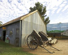 The Ned Kelly Blacksmith Shop - Accommodation Find