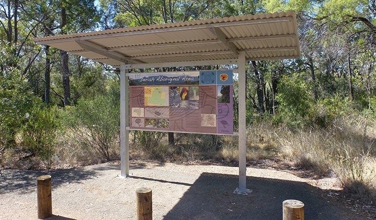 Deriah Aboriginal Information Bay