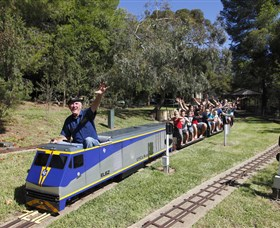 Willans Hill Miniature Railway - Accommodation Find