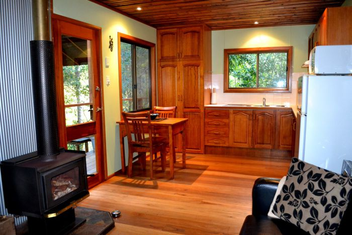 Waterfall Hideout-Rainforest Cabin for Couples - Accommodation Find