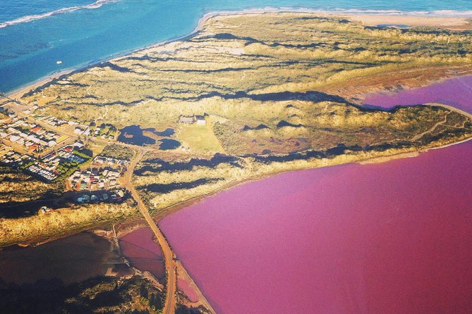 70-minute Pink Lake and Port Gregory Scenic Flight From Geraldton - Accommodation Find
