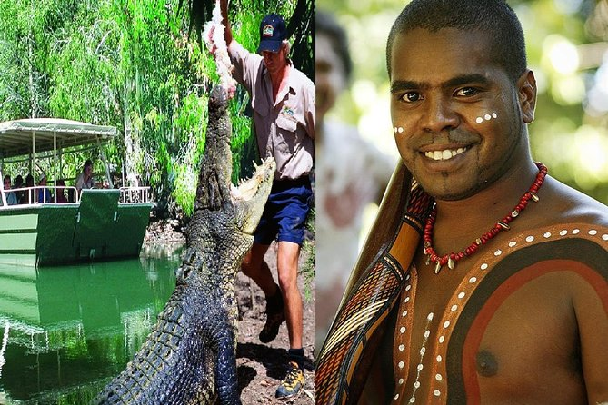 Hartley's Crocodile Adventures and Tjapukai Cultural Park Day Trip from Cairns - Accommodation Find