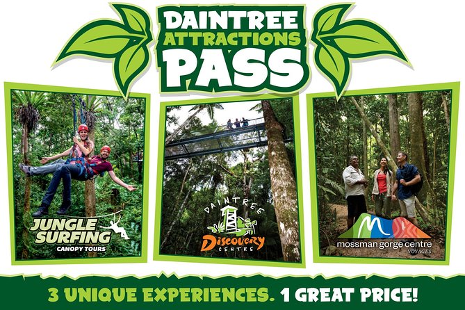 Daintree Atttractions Pass: The Best of the Daintree in a Day