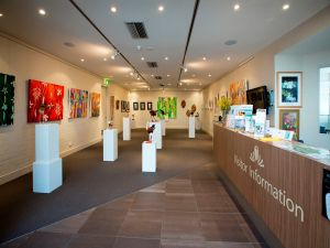 Australian National Botanic Gardens Visitor Centre Gallery - Accommodation Find