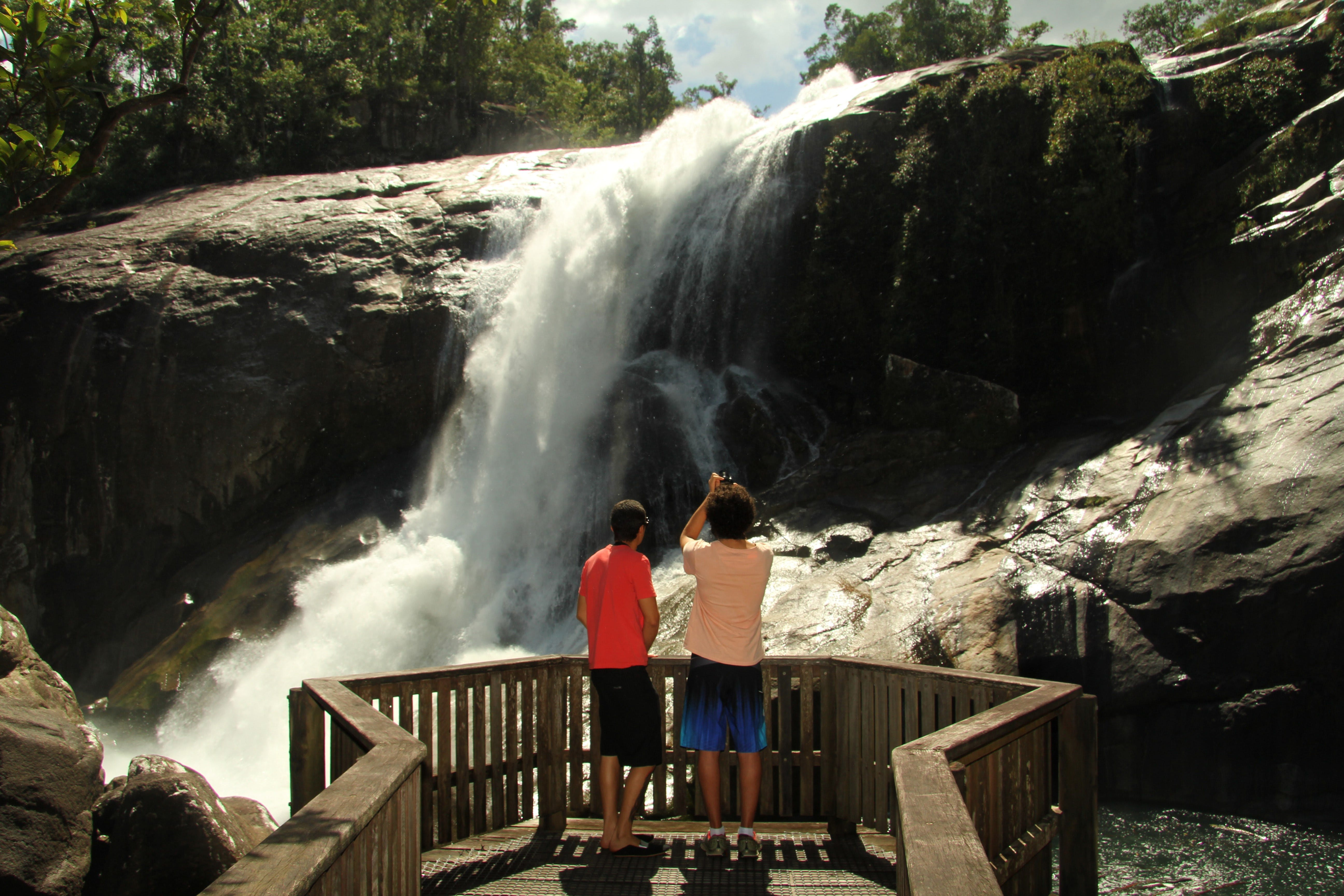 Murray Falls Girramay National Park - Accommodation Find
