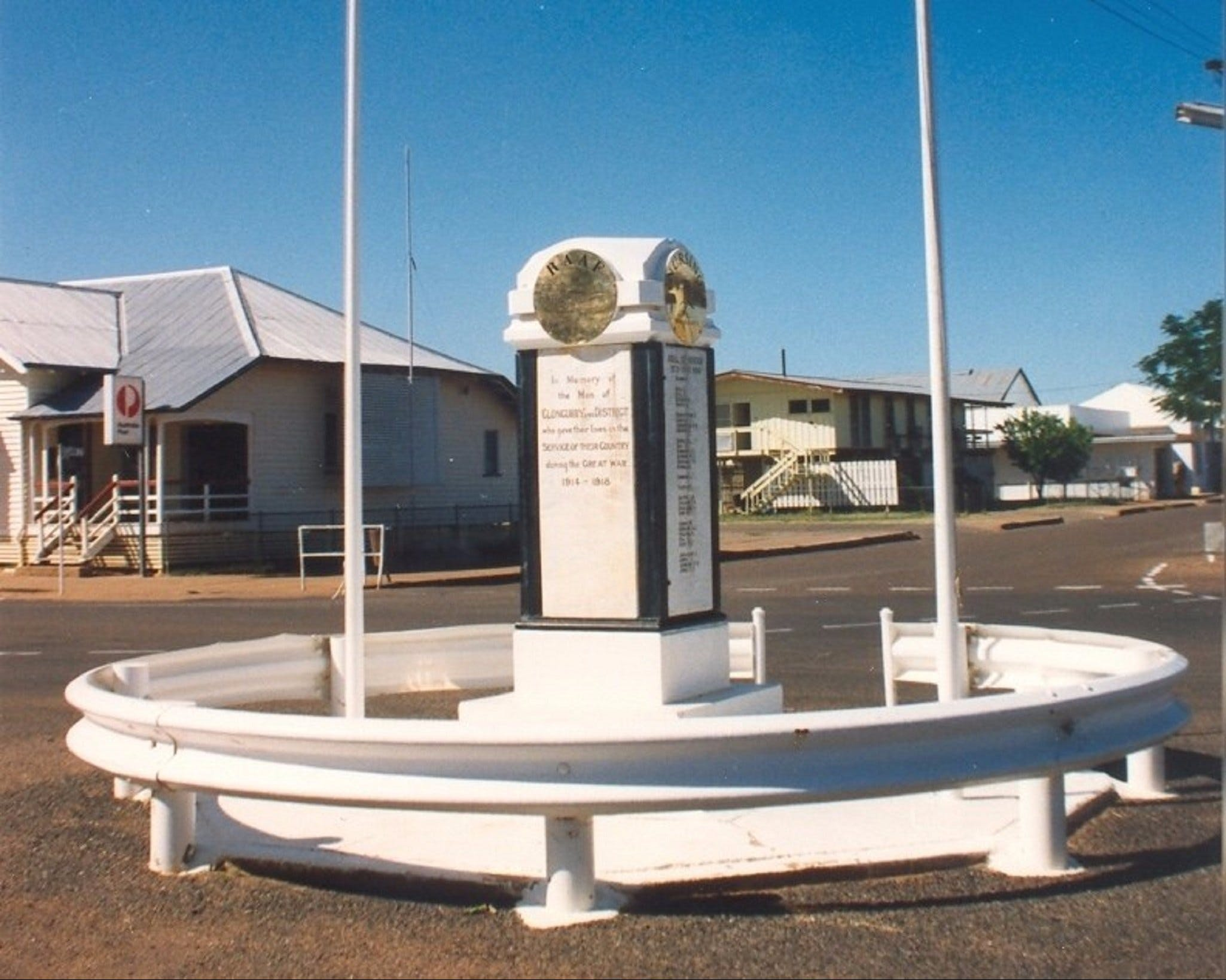 Cloncurry War Memorial - Accommodation Find