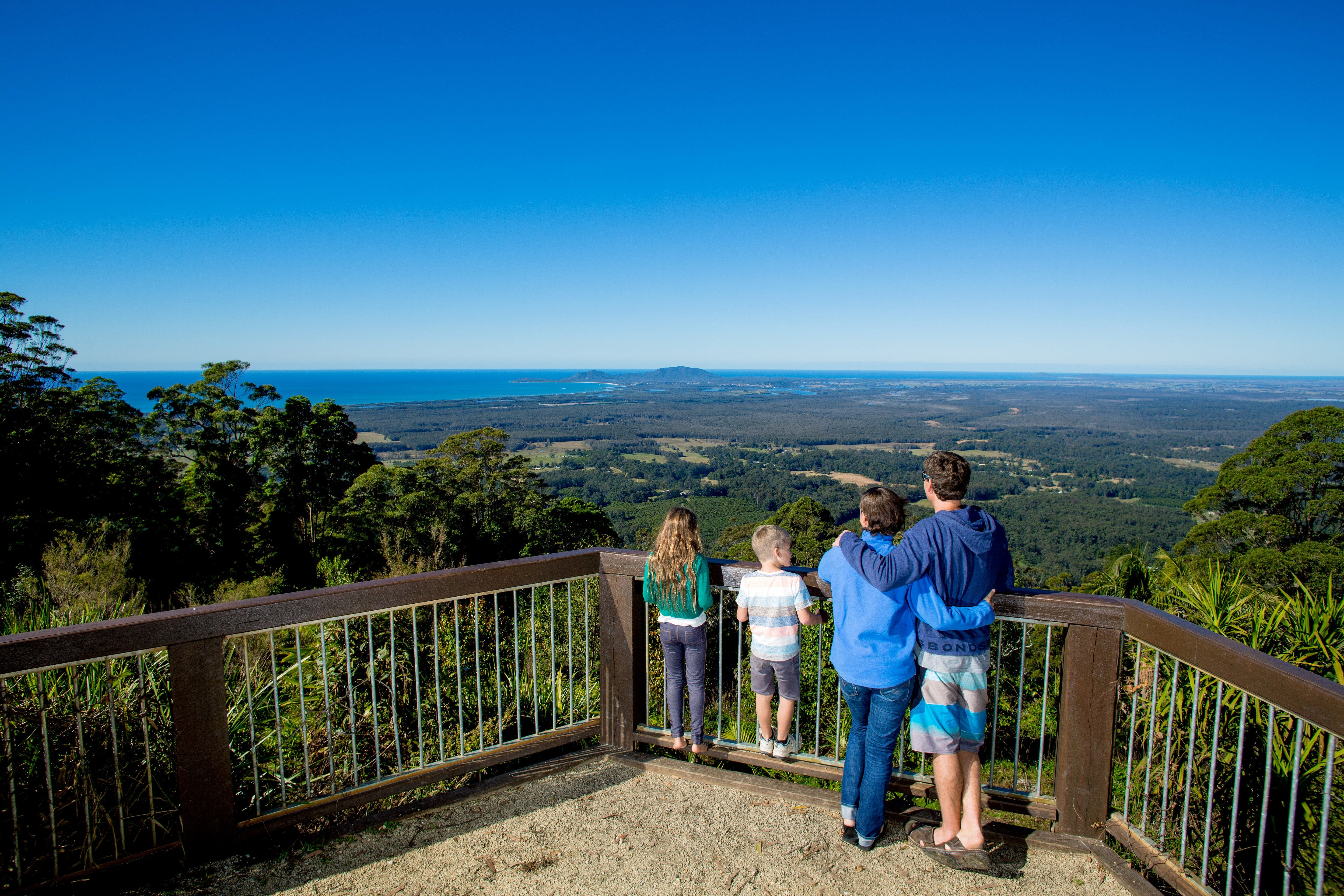 Mount Yarrahapinni Lookout - Accommodation Find