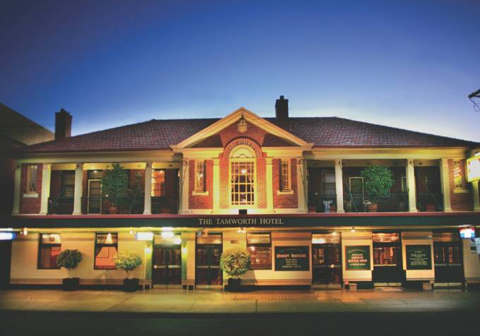 Tamworth Hotel - Accommodation Find