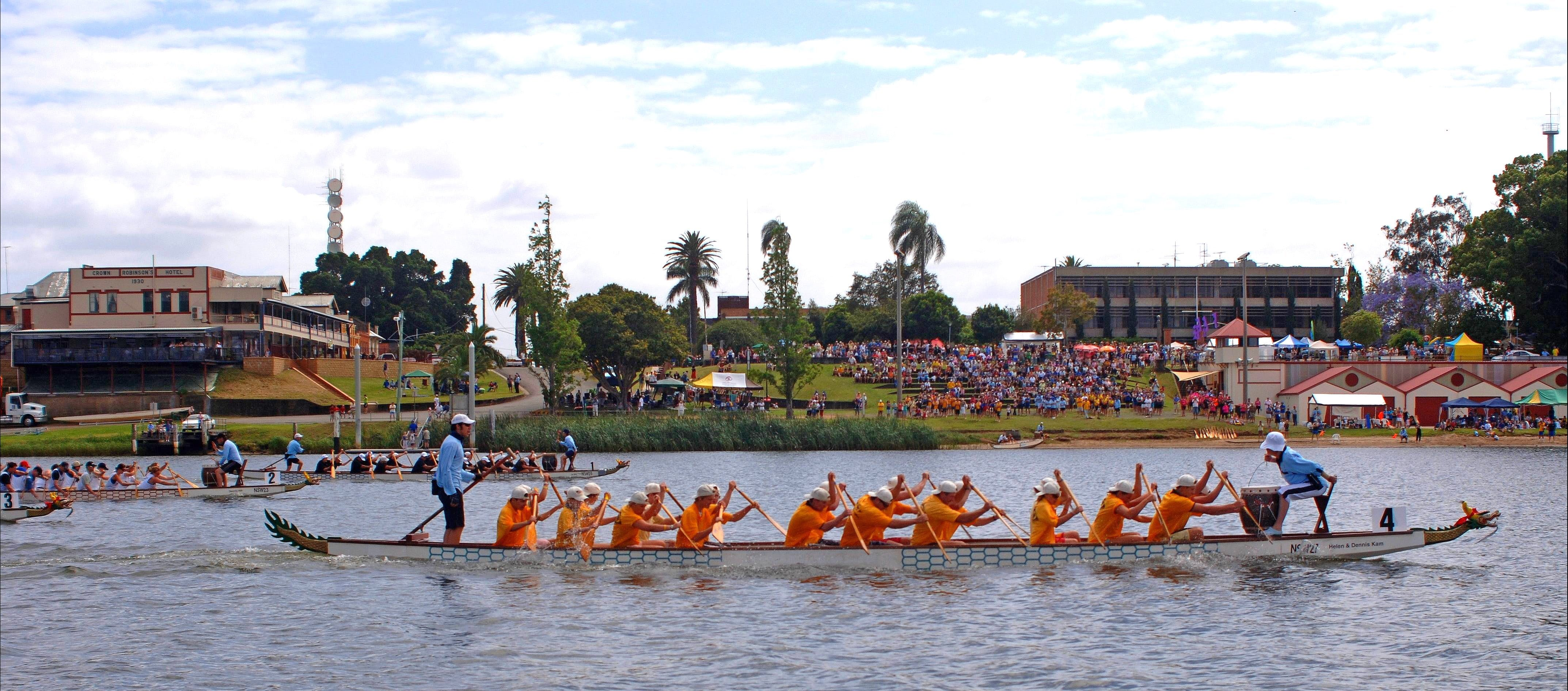 Jacaranda Dragon Boat Races - Accommodation Find