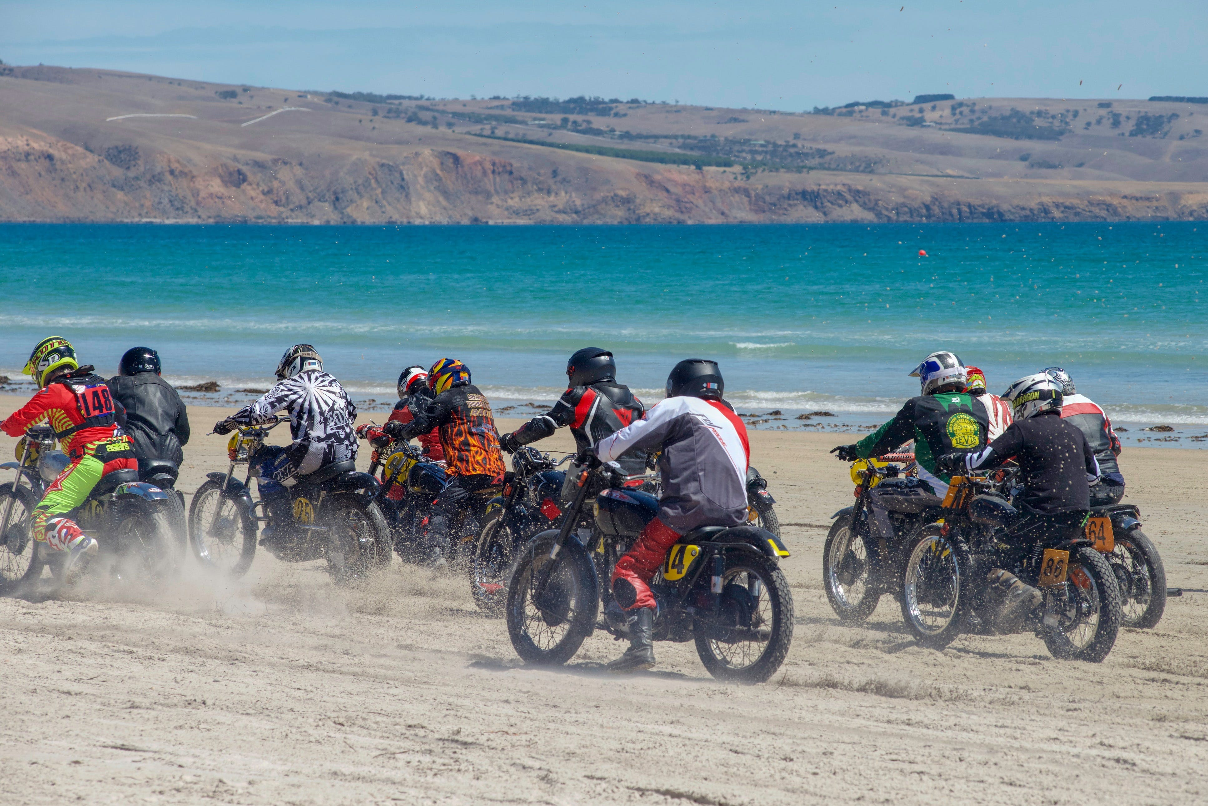 Sellicks Beach Historic Motorcycle Races - Accommodation Find