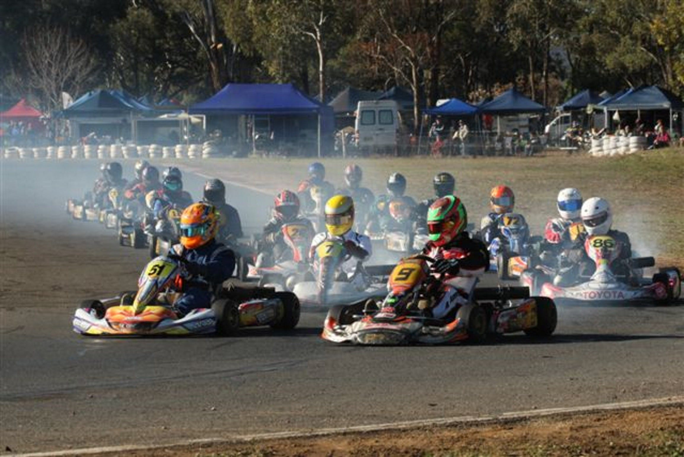 Grenfell Kart Club December Race Day - Accommodation Find