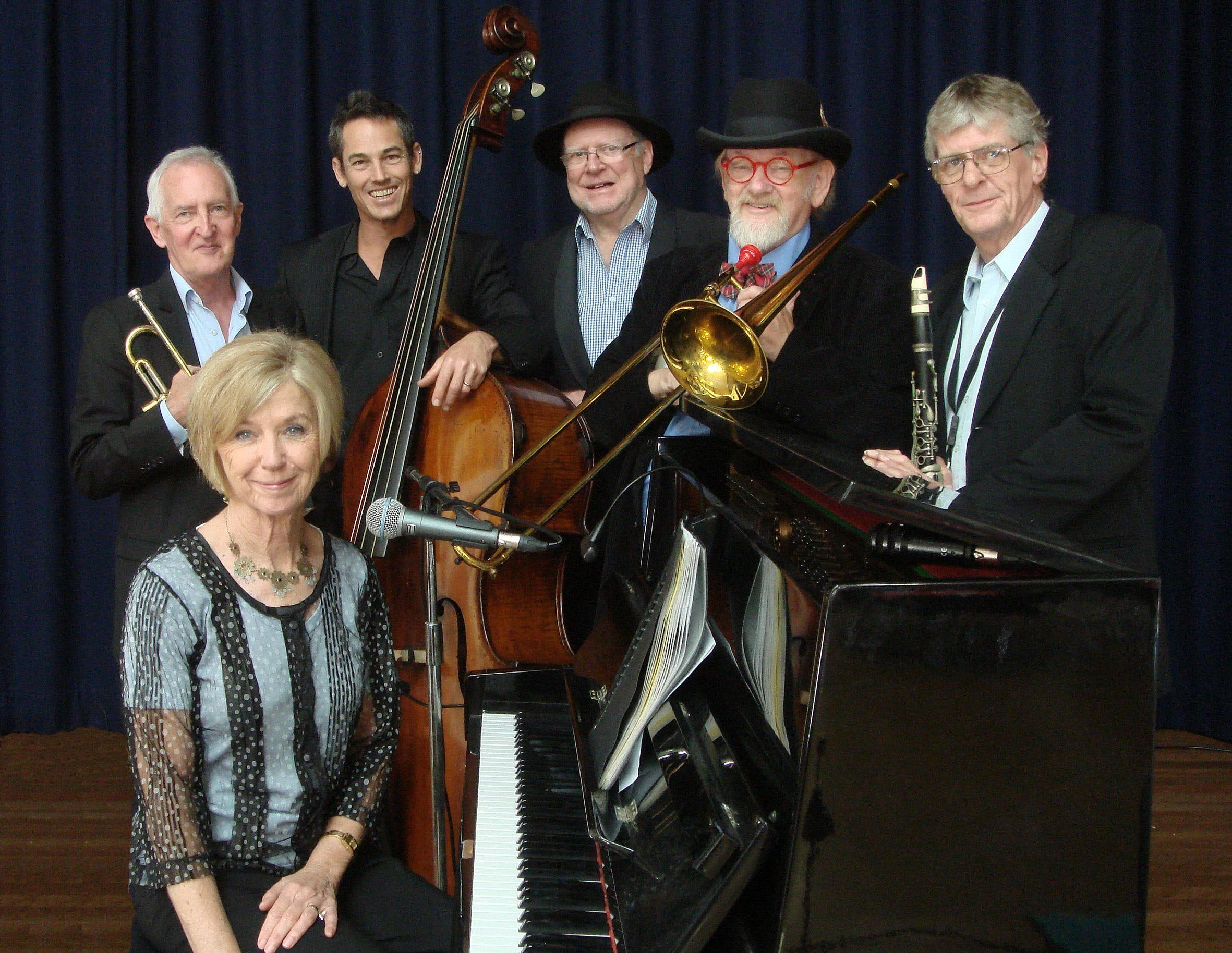 The Caxton Street Jazz Band in the Swigmore Hall at Robert Channon Wines - Accommodation Find
