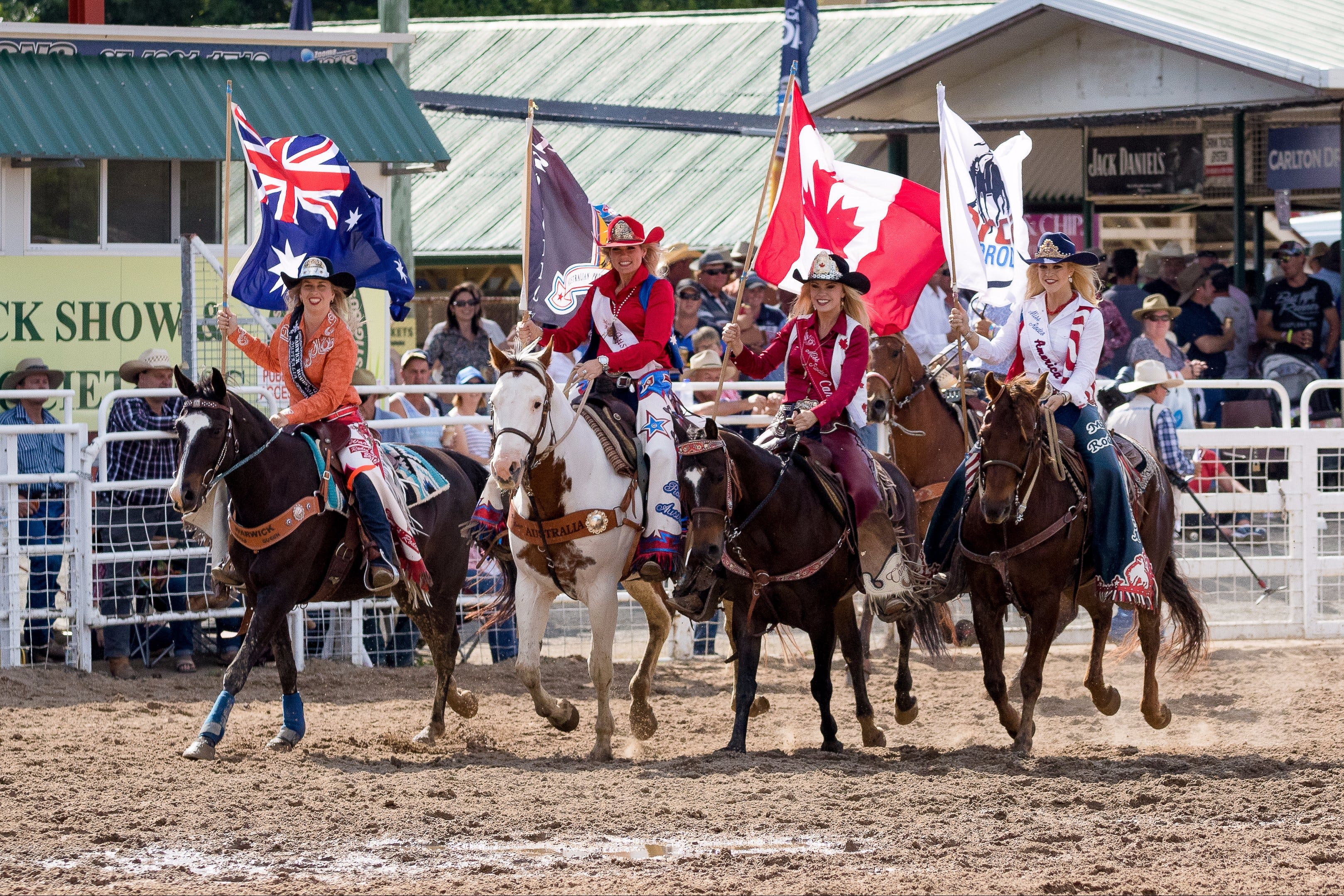 Warwick Rodeo National APRA National Finals and Warwick Gold Cup Campdraft - Accommodation Find