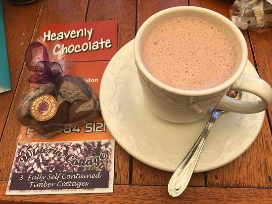 Stanthorpe's Heavenly Chocolate at Wisteria Cottage - Accommodation Find