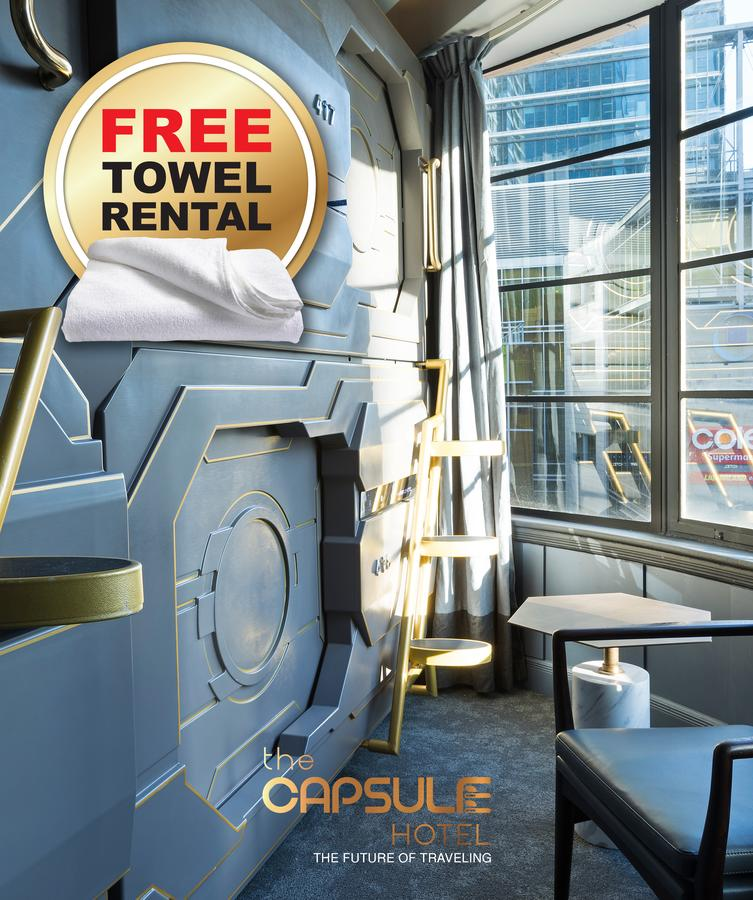 The Capsule Hotel - Accommodation Find